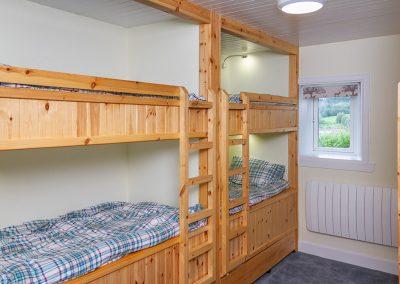 Knowehead Cottage - Bunk Room